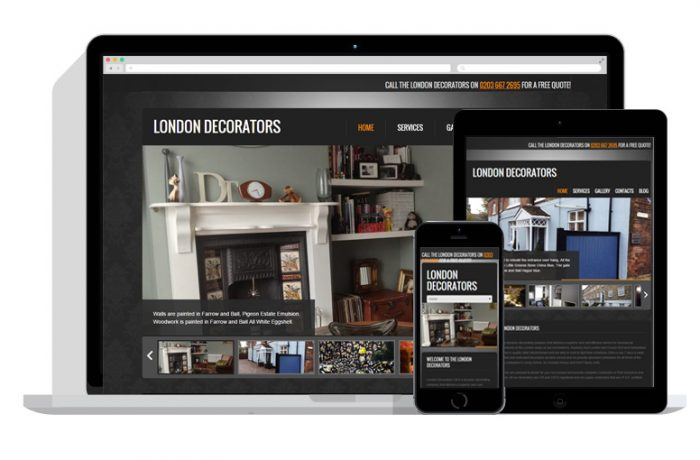 The London Decorators Website