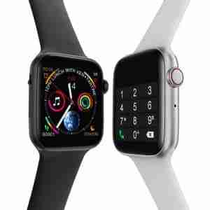 black and silver xwatch gadgets