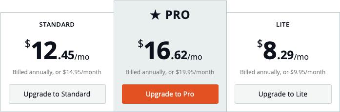 bandzoogle-pricing