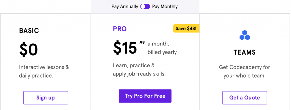 codecademy-pricing