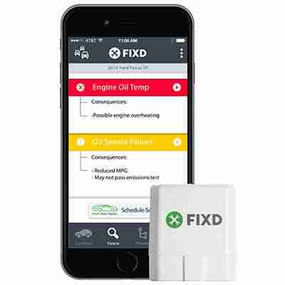 FIXD diagnostic tool with mobile app