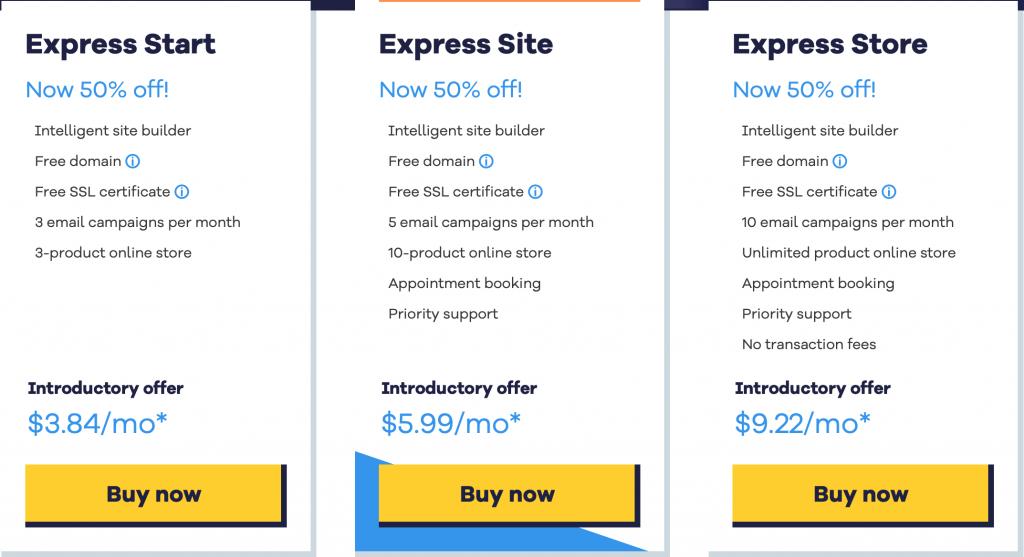hostgator-website-builder-pricing