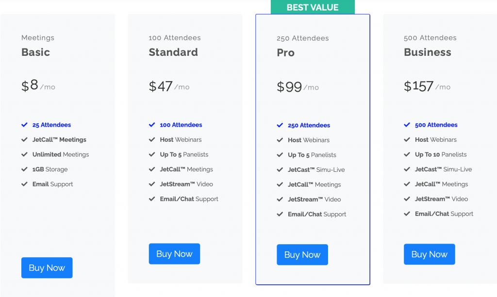 jetwebinar-standard-plans