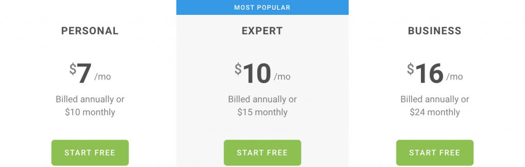 pixpa-pricing