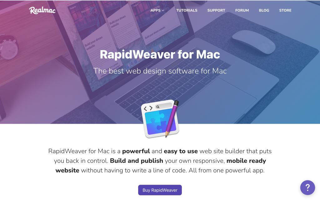 rapidweaver-home