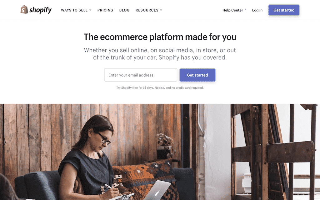 shopify-home-page