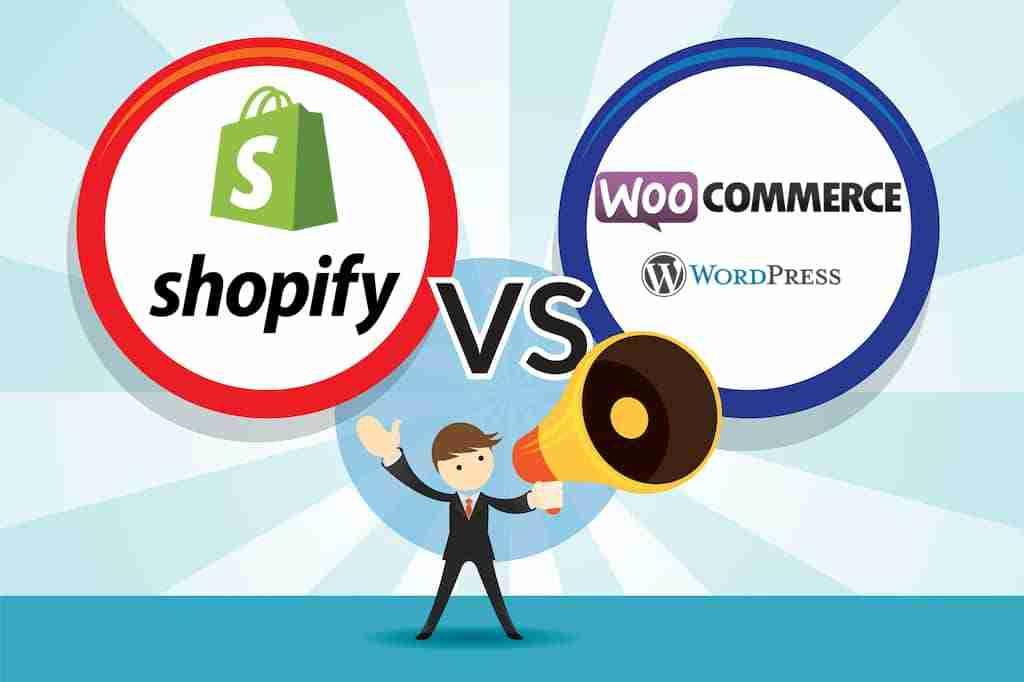 Shopify vs Wordpress & WooCommerce