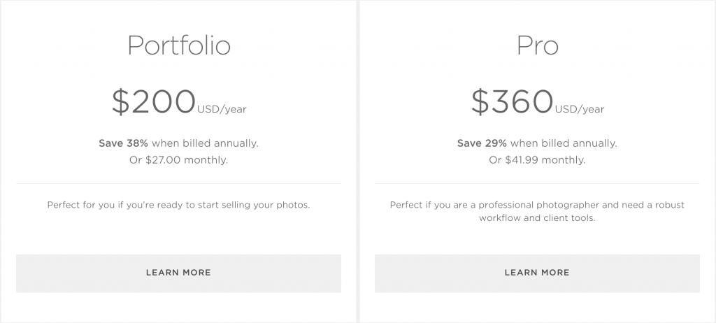 smugmug-pricing