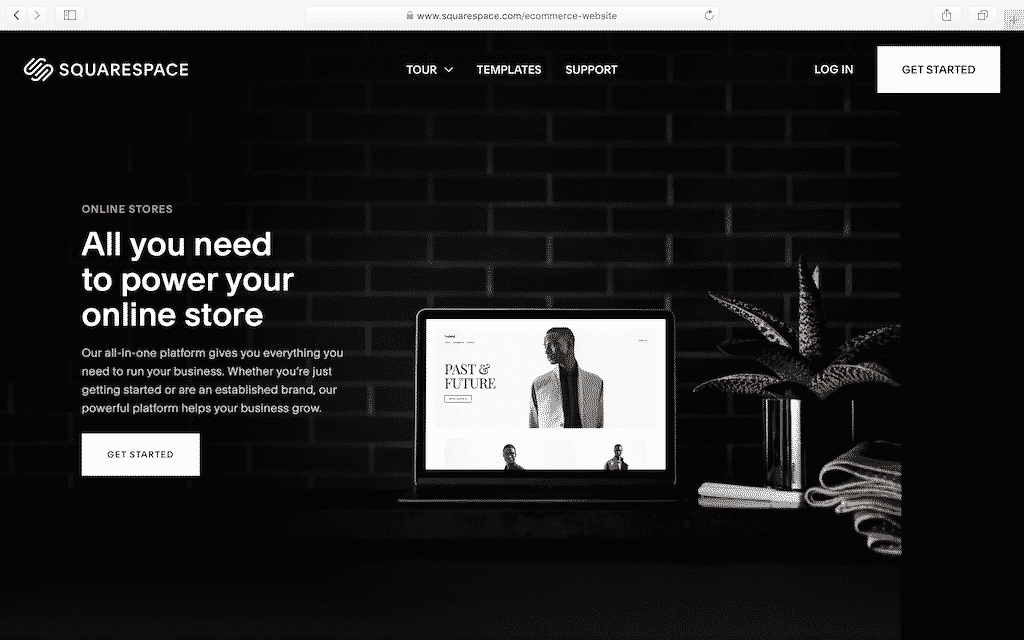 squarespace-ecommerce-home-page