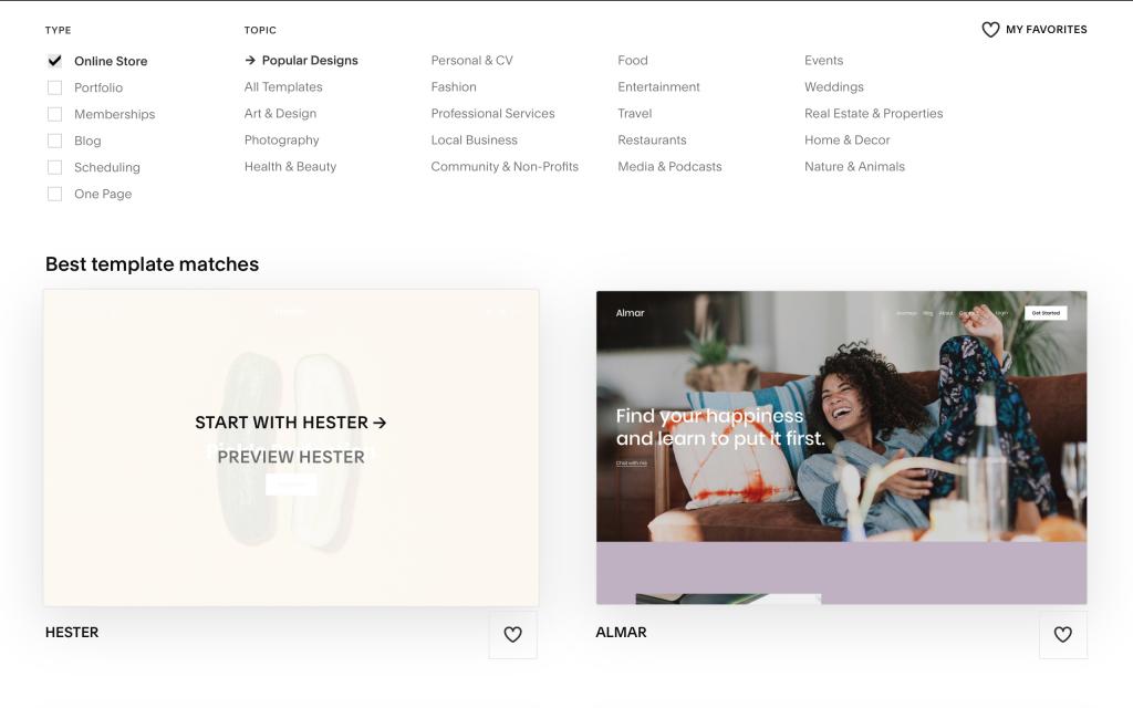 squarespace-online-store-templates