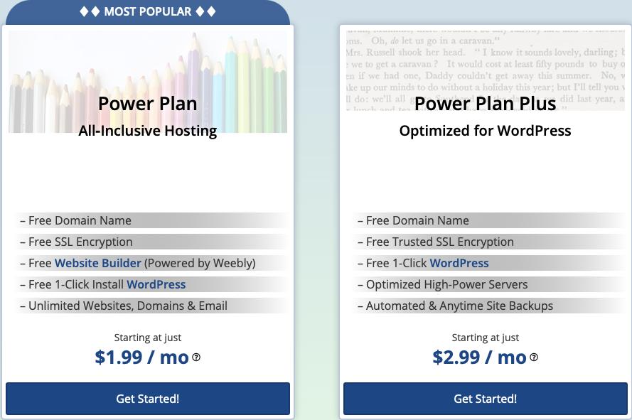 webhostingpad-shared-plans