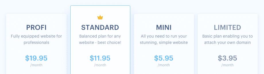 webnode-pricing-plans