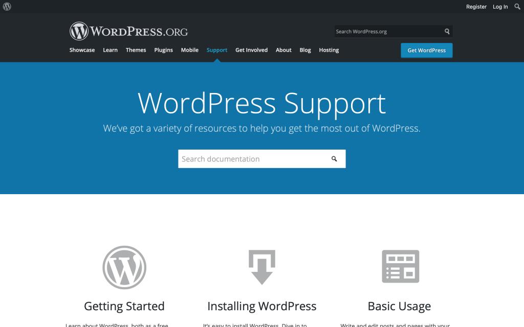 wordpress-support